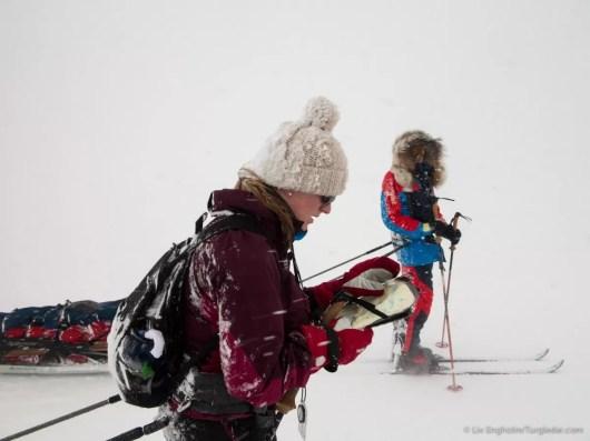 Nooit meer slapen, Finnmarkplateau Jolly Nomad 150