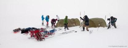 Nooit meer slapen, Finnmarkplateau Jolly Nomad 400