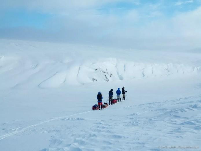 Nooit meer slapen, Finnmarkplateau Jolly Nomad 5