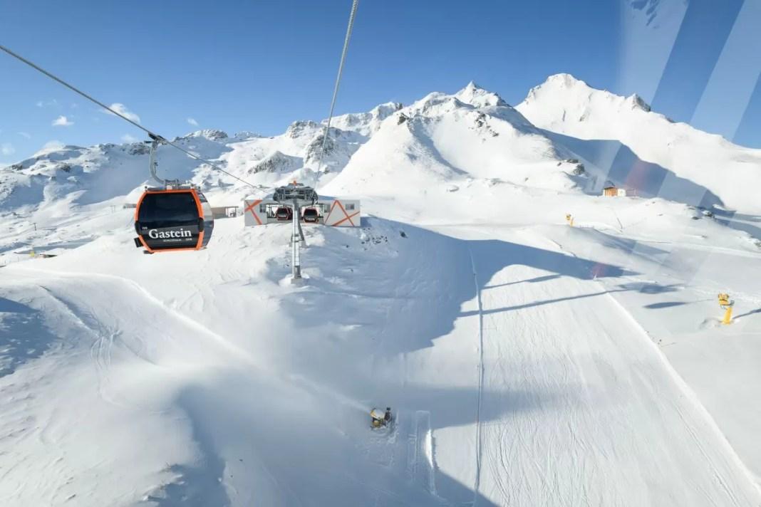 Op naar de top met de Schlossalmbahn. Foto: Gasteiner Bergbahnen AG / Marktl Photography