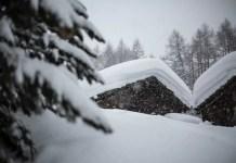 eigen huis in de sneeuw