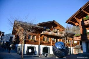 Het dorp Gstaad