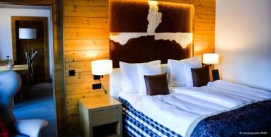 Onze kamer in HUUS Hotel
