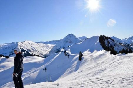 Skigebieden in Gstaad