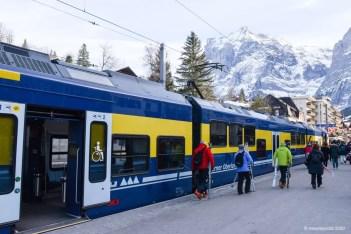 Het station van Grindelwald