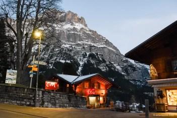 Het dorp Grindelwald