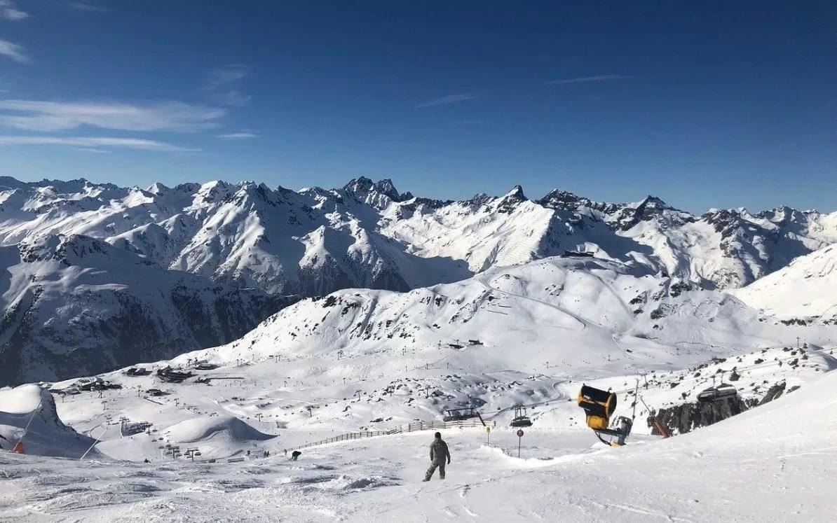 short-ski ischgl