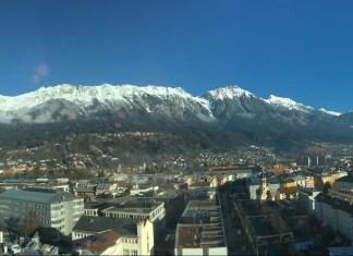 City-ski-trippin' Innsbruck