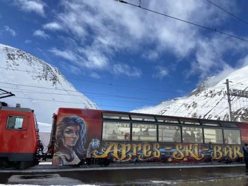 Een wel hele speciale trein Foto: Maaike de Vries