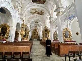 Rondleiding door het klooster Foto: Maaike de Vries