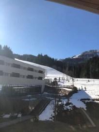 Uitzicht vanuit het hotel. Foto: Arjan Bos