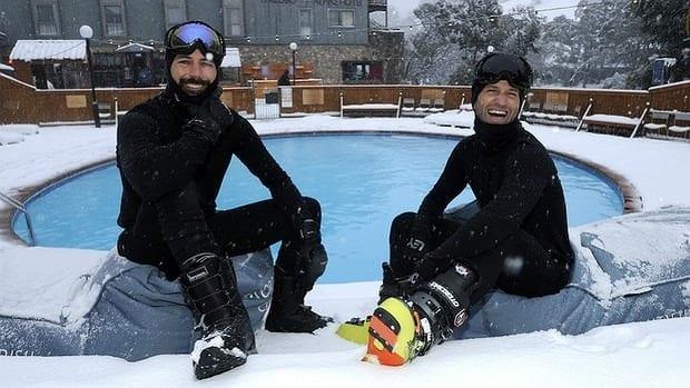 Four snow moguls in Aussie business