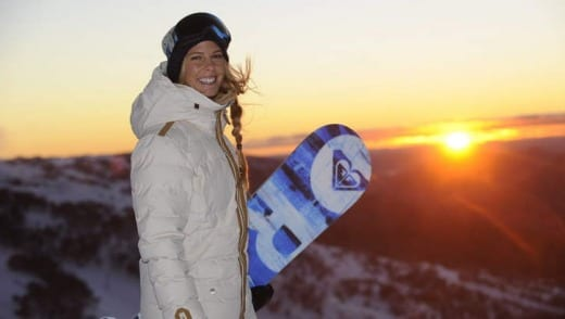 Women at the snow: Not just eye candy
