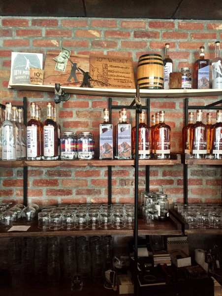 10th Mountain Whiskey Wall