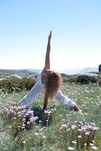 Yoga in Thredbo summer