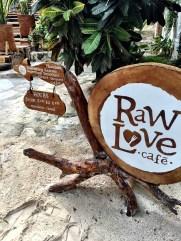 Ahau hotel's Raw Love cafe