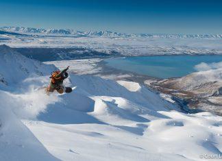 Warren Miller Entertainment New Zealand Aoraki Mount Cook National Park Athletes Seth Wescott Rob Kingwill