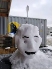 Bromar Joseph Ahmadi creepy snow man