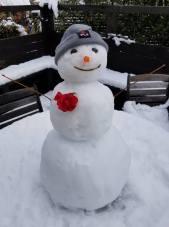 Snowman by Abby Jaskari