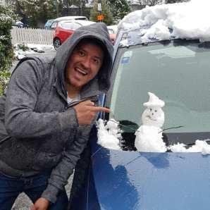 Julian Sabino's mini snow man