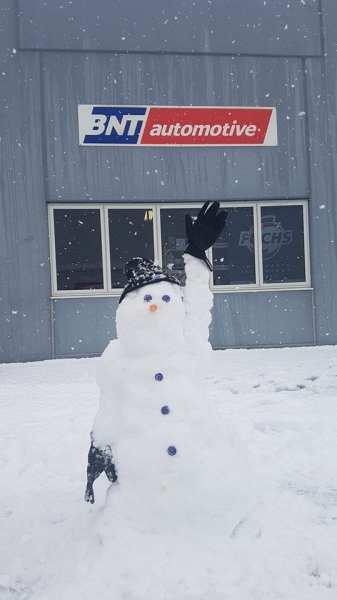 Snowman by Nicole Butler