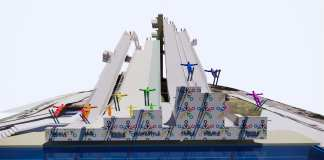 brisbane ski jump facility