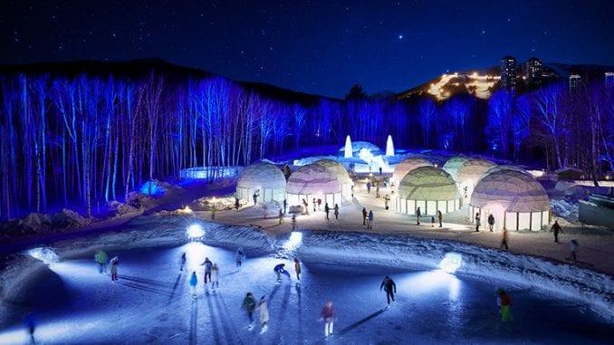 ice village tomamu