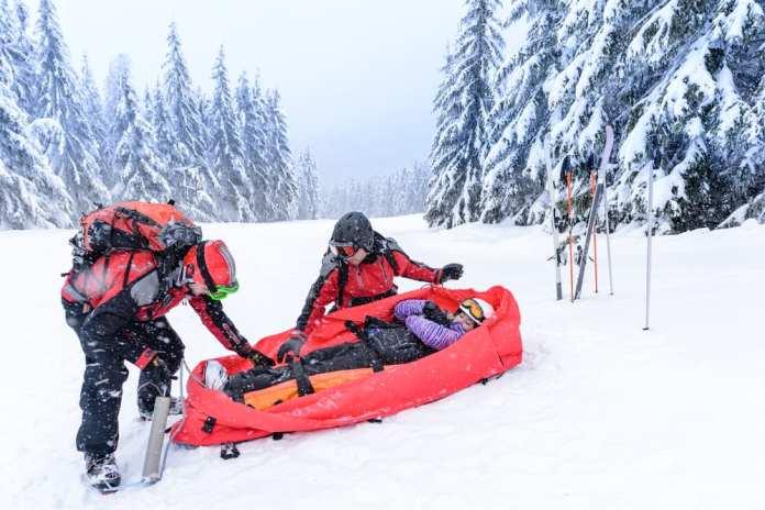 ski patrol sled