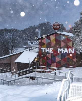 The Man Falls Creek
