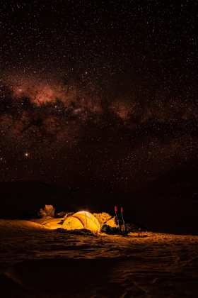 camping in Australia backcountry