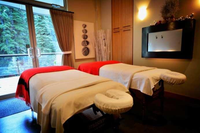 sun peaks spa doubles room