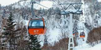 Sapporo Kokusai skiing Japan