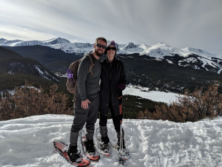 owners of Snowshoe Mag snowshoeing in Breckenridge Colorado