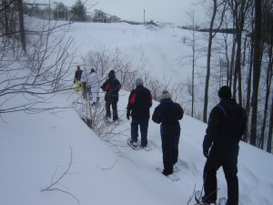 Having fun in a group while in the snow is possible but there is still dangers lurking.