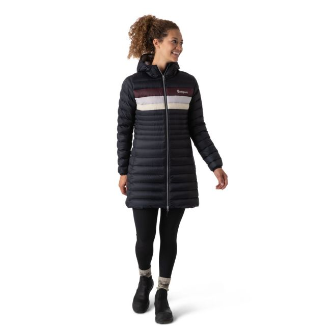 product photo - woman in Cotopaxi Fuego Parka