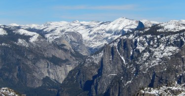 view of Yosemite Valley from Dewey Point