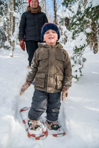 Snowshoeing Bliss