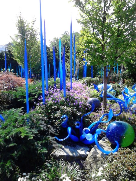 gardens at Dale Chihuly, Seattle