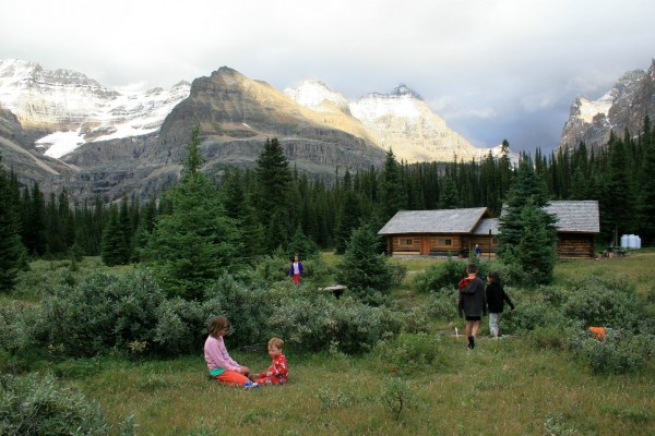 Families love the Elizabeth Parker Hut