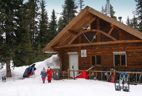 Staying at the Elk Lakes Cabin, British Columbia