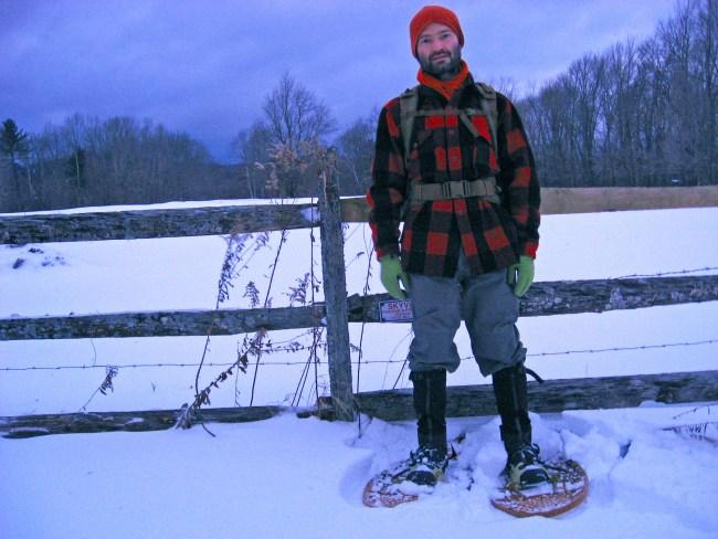 pierde in greutate snowshoeing