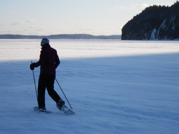 snowshoeing in New Brunswick