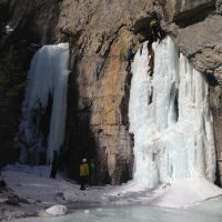 Frozen Waterfalls and Ice Walks in Banff National Park