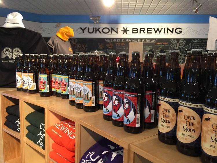 Yukon Brewing beers