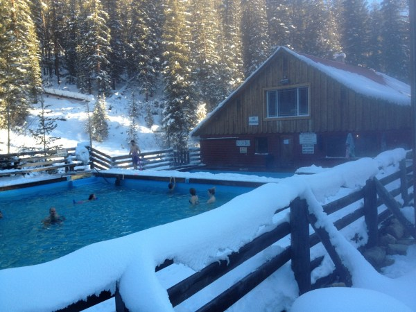 "The hot springs pool for which the ""resort"" is named."