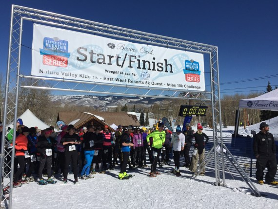 Beaver Creek Snowshoe Race 2016
