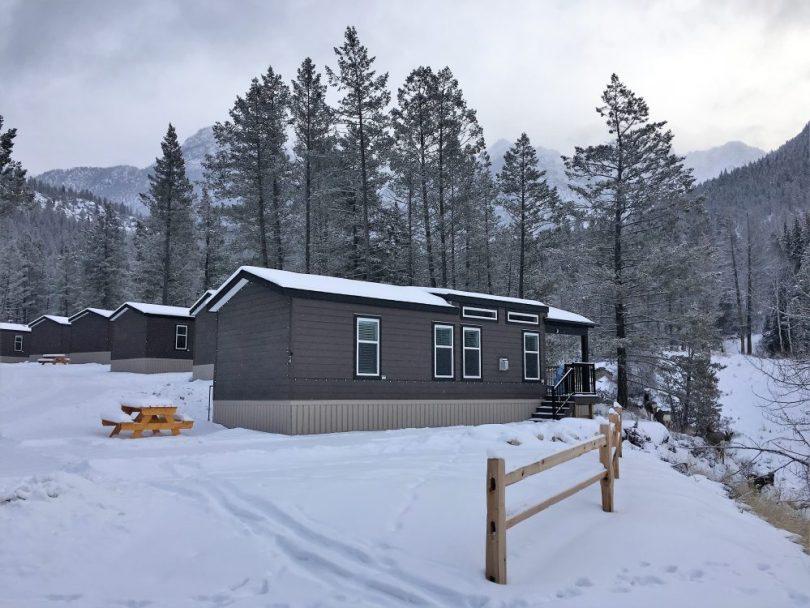 deluxe cabin at Fairmont Springs Resort, Alberta