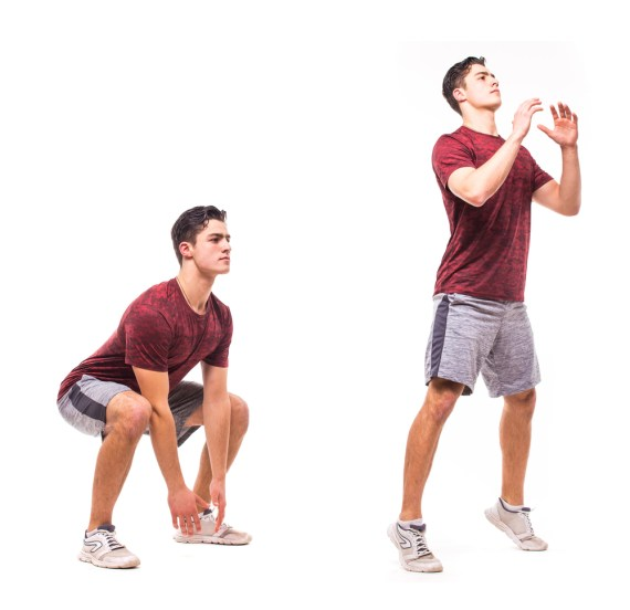 Jump Squat Exercise