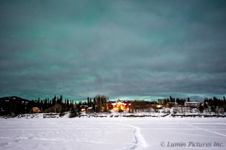Inn on the Lake near Whitehorse, Yukon, Canada
