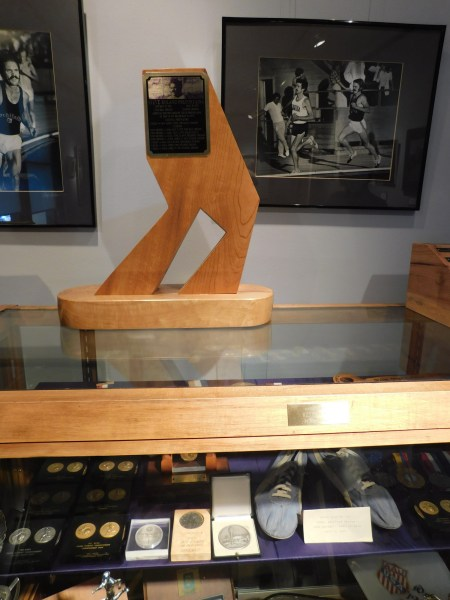 Memorabilia of Steve Prefontaine at Coos Art Museum